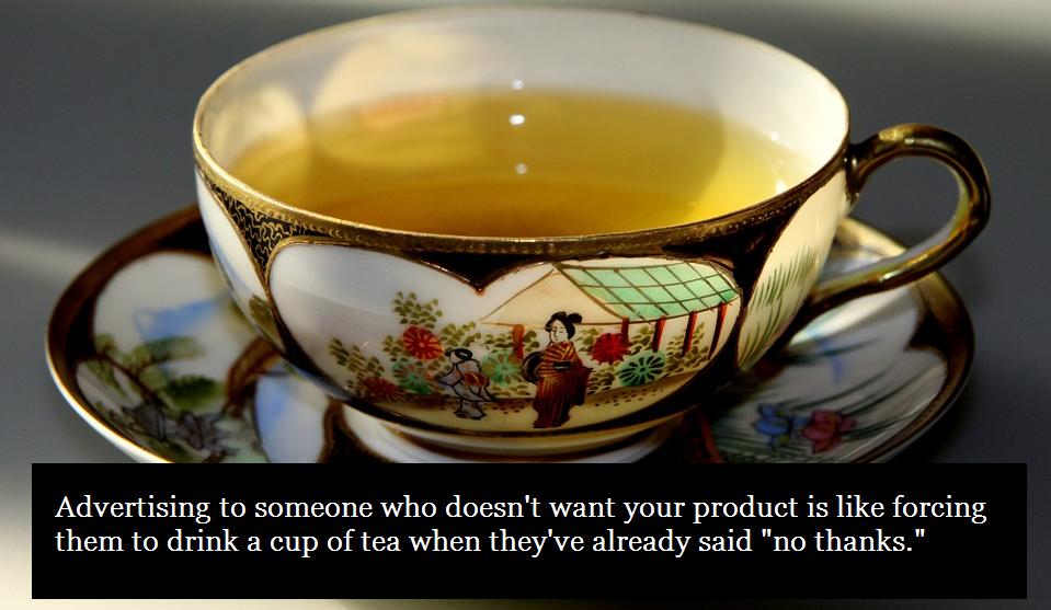 tea-proverb-exclude-audiences-custom