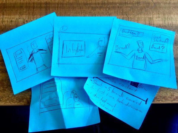 photo-shoot-flexxdigital-post-it-notes-storyboard