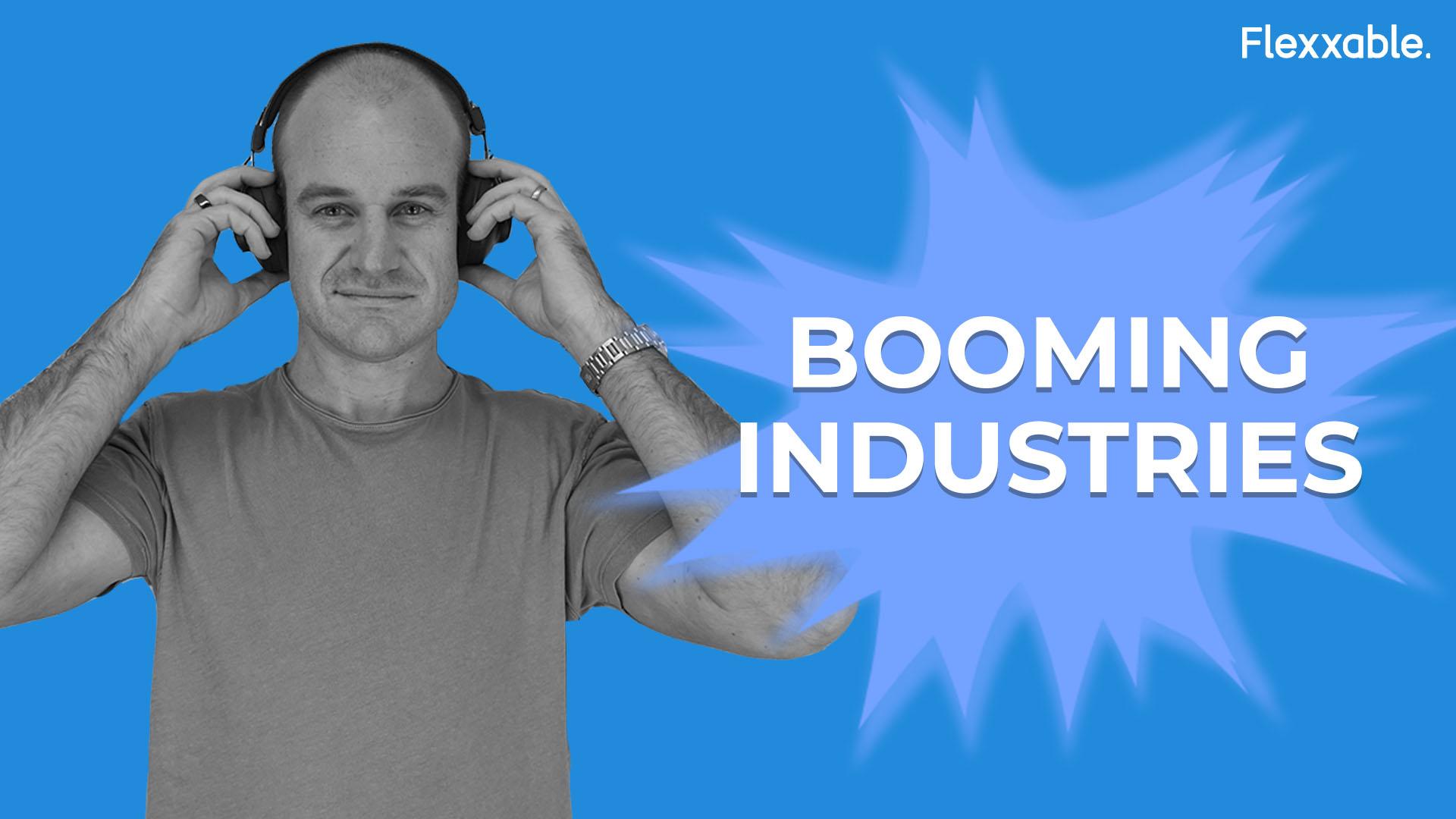 booming industries